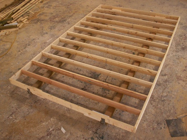 Cedarridge commercials Floor joist trusses